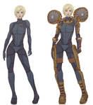 Samus Zero Suit Redesign