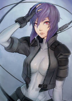 Motoko Kusanagi - Ghost in the Shell