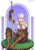 Ciri - Witcher 3 by Unsomnus