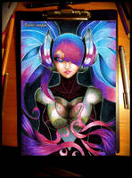 League of Legends - DJ Sona by Beshi-senpai