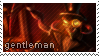 Gentleman Cho Stamp by CleverConflict