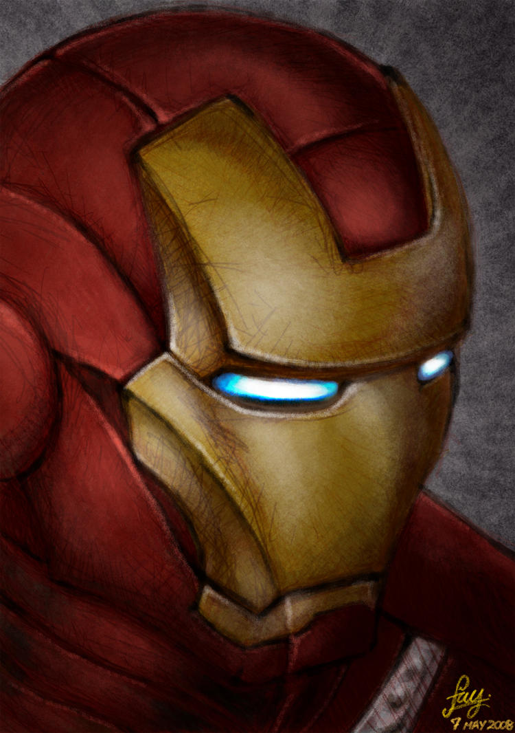 Iron Man by Shnibsnuff