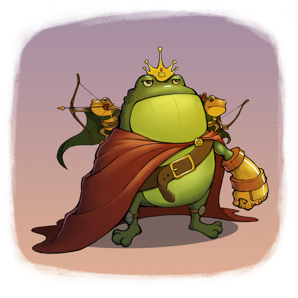The Toad King by TimOo...