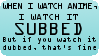 Subs Over Dubs [Stamp] by TreTrethe2nd