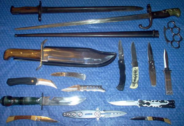 Knives By Jonnypistols On DeviantArt