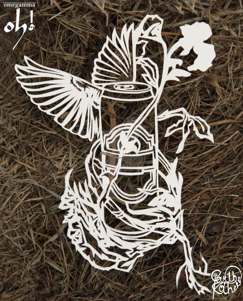 Papercut Art #004 by ParthKothekar on DeviantArt