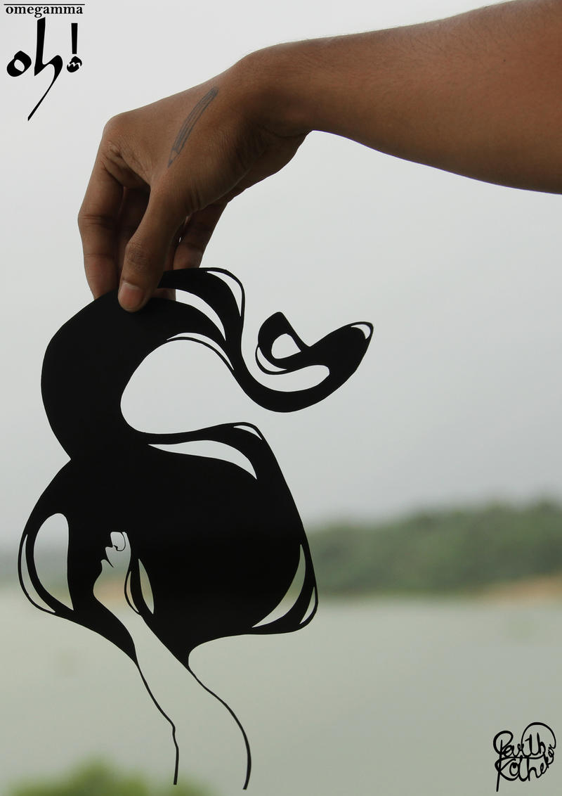 Papercut Art #007 by ParthKothekar