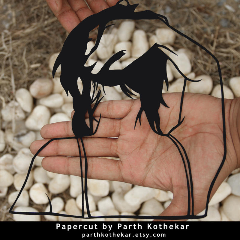 Papercut Art #009 by ParthKothekar