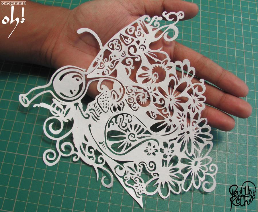 Papercut Art #0013 by ParthKothekar on DeviantArt