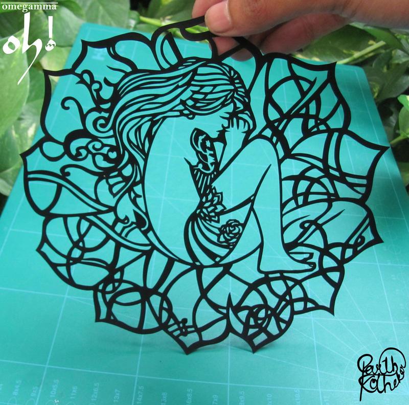 Papercut Art #0015 by ParthKothekar