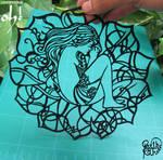 Papercut Art #0015