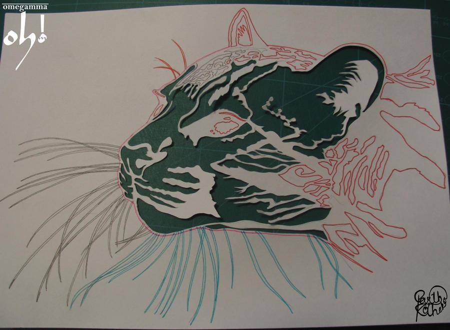 Papercut Art - WIP by ParthKothekar