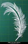 Papercut Art #27 - Feather