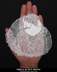 Miniature Papercut - Papercutting - Paper art