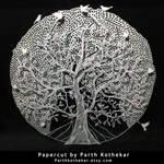 Papercut - layers - Papercutting - Paper art