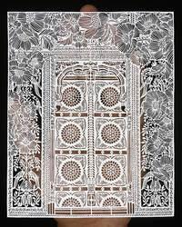 Heritage Papercut - Papercutting - Old India - Art by ParthKothekar