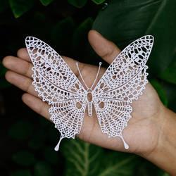 Butterfly Papercut Art Papercutting Handmade Craft
