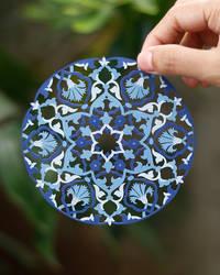 Papercut Islamic Pattern Papercutting Paper Craft