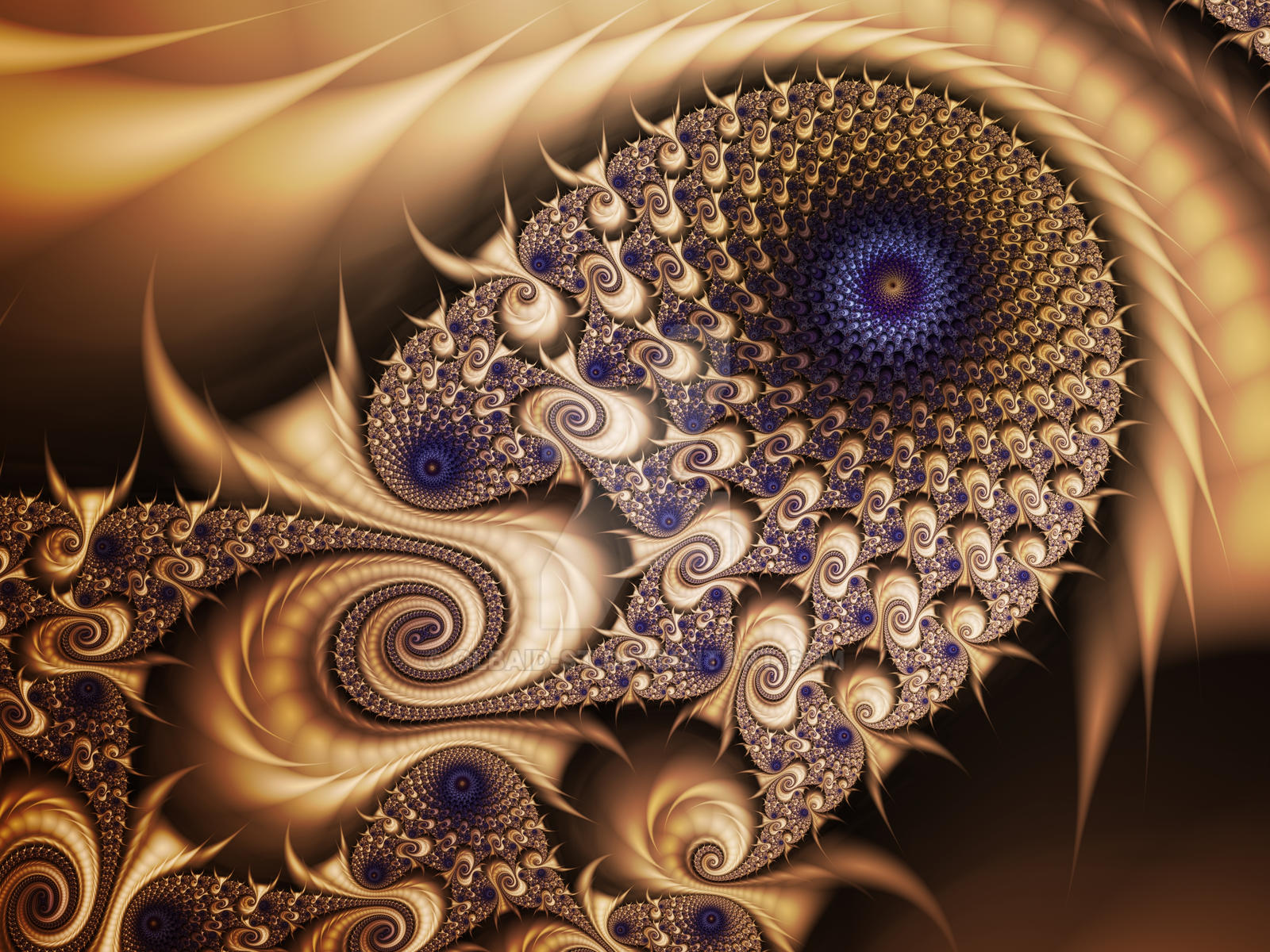 Mandelbrot 53  - Desert Eye - by Olbaid-ST