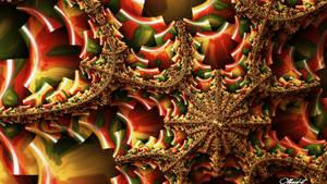 Mandelbrot 107 - Autumn eye -
