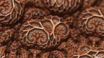 Mandelbulb3D 009 Wooden skull