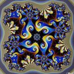 Deep Mandelbrot Set #107 Magnification 6.556e+1514