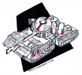 Droch Thunderbolt Tank by saise