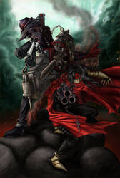Brothers of Cerberus by aevitas