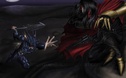 Dragoon vs. Turk by aevitas