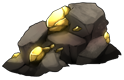 Gold Ore by momma-kuku