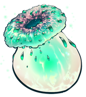 Magical mushroom by momma-kuku