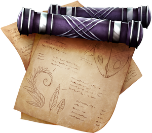 Scroll of Modification by momma-kuku