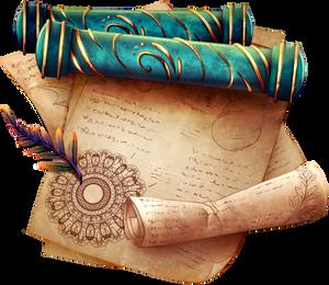 Scroll of Rebirth by momma-kuku