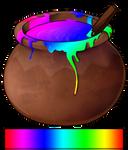Rainbow dye by momma-kuku