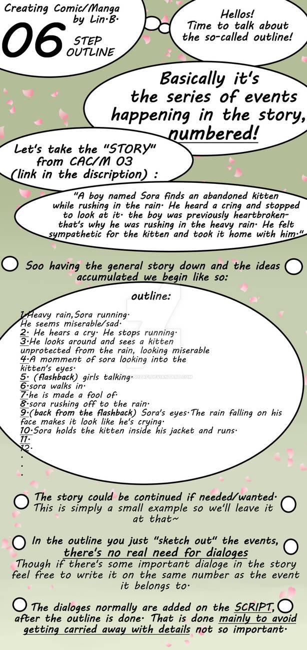 Creating a Manga/ Comic 06: The Step Outline