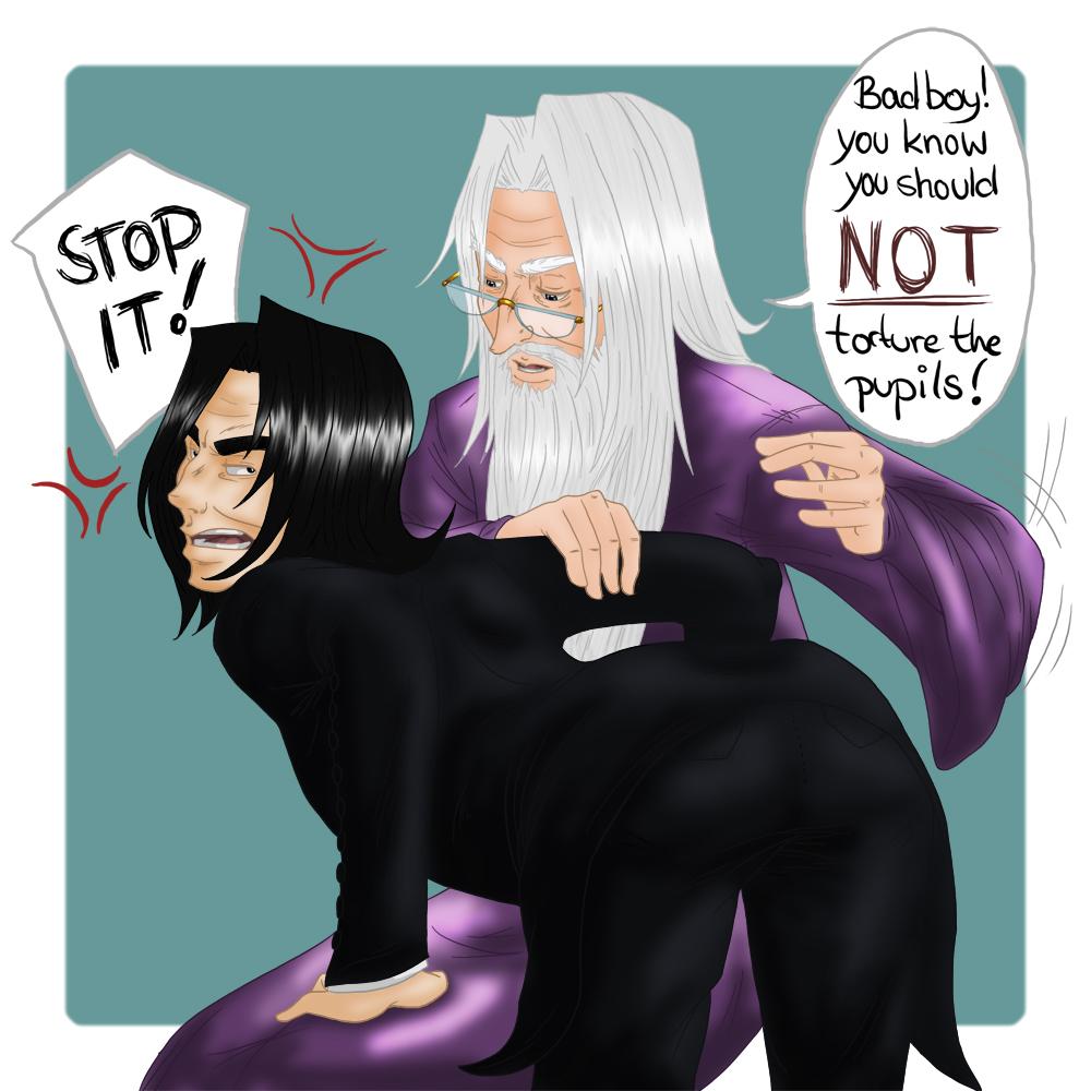 Remus harry punish spank grounded