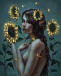 Sunflower Mermaid #dtiys