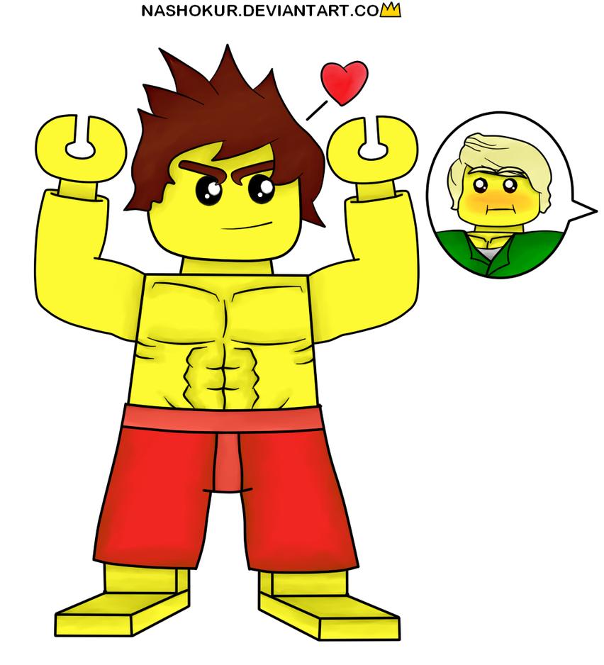 Look at my Muscles Lloyd by Nashokur on DeviantArt