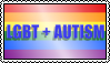 LGBT + Autism Stamp