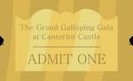Grand Galloping Gala Ticket