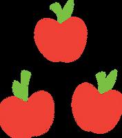 Applejack Cutie Mark by noxwyll