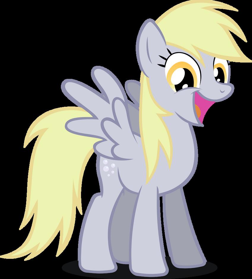 Derpy is a happy pony EQD 50m by noxwyll