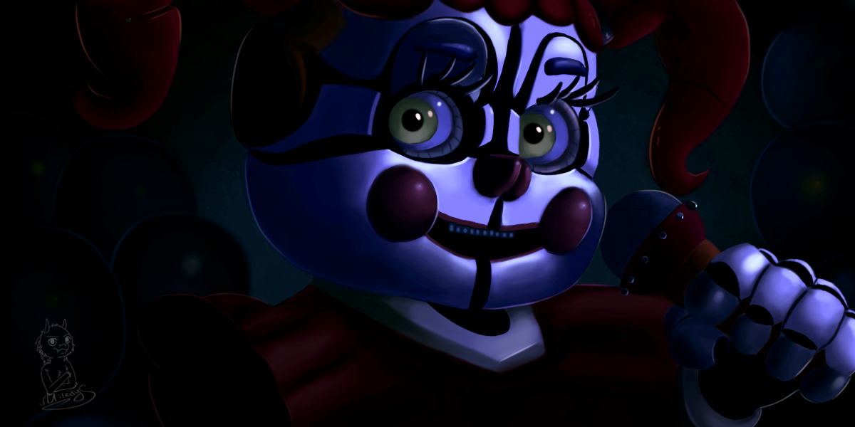 Fnaf Sister Location Baby By Miledys On Deviantart