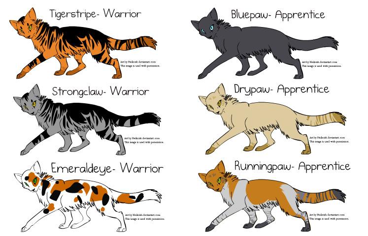 Skyclan Warrior Cats
