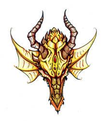 Dragon Head - Marker by Eppy