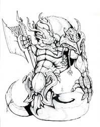 Creature Design - Fendrake by Eppy