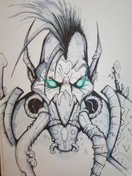 Troll Shaman Sketch by Eppy