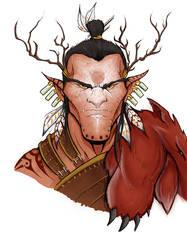 Hobgoblin Druid by Eppy