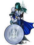 Water Genasi Tempest Cleric