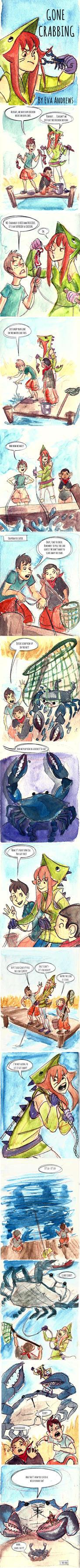 Gone Crabbing by l-Ataraxia-l